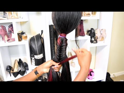 Make Your Ponytail Longer With Feed In Braids