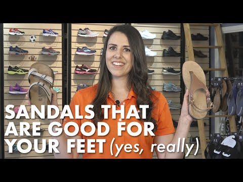 5 Tips for Finding Supportive Sandals | Kintec: Footwear + Orthotics