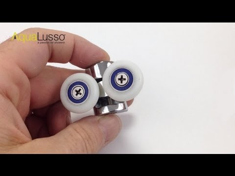 Shower Door Cam Wheels - Fitting and Adjusting