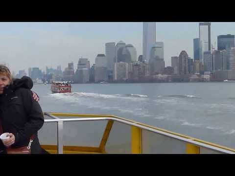 Paseo en New York Water Taxi - Febrero 2013