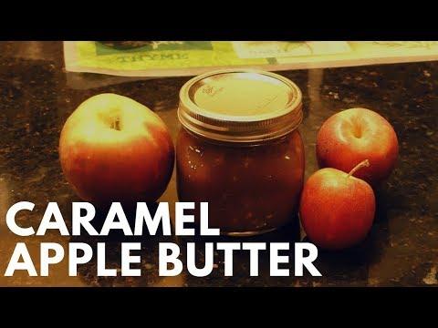 Canning Caramel Apple Butter