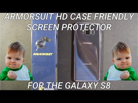 Galaxy S8 ArmorSuit Screen Protector