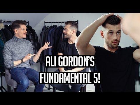 Men's Hair and Grooming ESSENTIALS | Ali Gordon's Fundamental 5