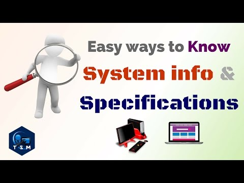 How to | Know laptop Product id |Specifications (Specs) | PC | Windows Product id checker