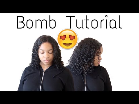 How To Bring Your Weave Back To Life!! -Wash Day Routine ft. HairSpells Curly Wig