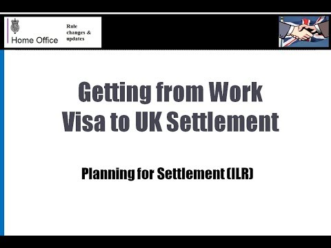 Getting from work visas to permanent settlement - How to plan