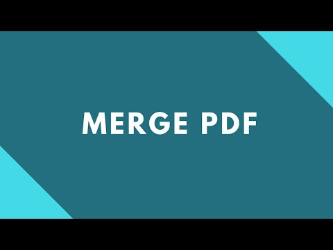 How to join & merge pdf files online for free ?