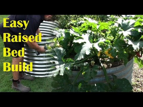 How to Assemble a Raised Galvanised Garden Bed