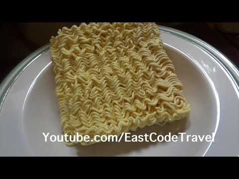 Korean cheese ramen instant noodle