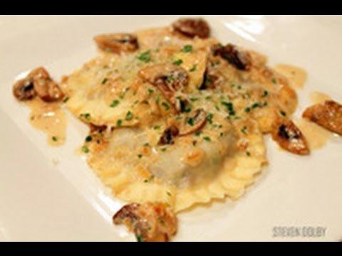 Mushroom Ravioli recipe