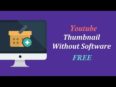 How to Make Youtube Video Thumbnail Without Software || Create Youtube Video Thumbnail Online