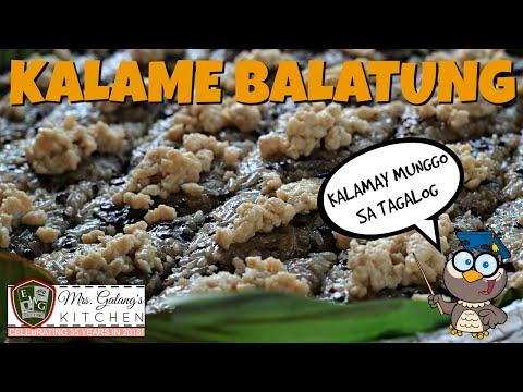 KALAME BALATUNG (Mrs. Galang's Kitchen S3 Ep3)