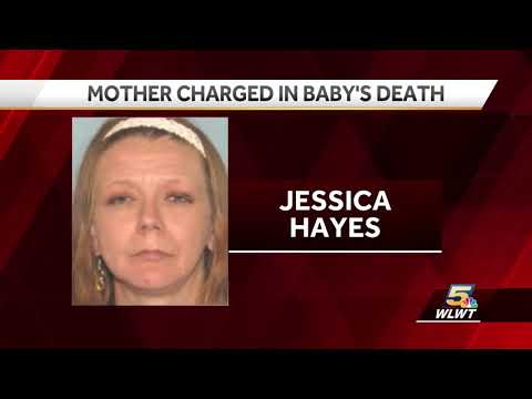 Mother charged in baby's death