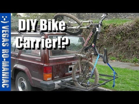 DIY home made Bike Carrier - for free