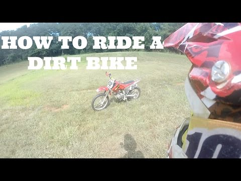 HOW TO RIDE A DIRT BIKE WITH A CLUTCH (New Rider Series EP:3)