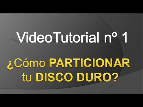 TPI - Videotutorial nº 1 - Cómo reparticionar el disco