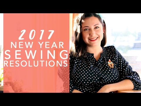 2017 Pinup and Vintage Sewing Resolutions!   Vintage on Tap