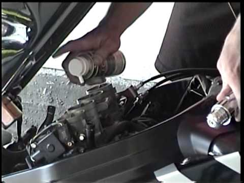 Motorcycle Carb Cleaner - Cleaning Motorcycle Carbs and Throttle Body Cleaning