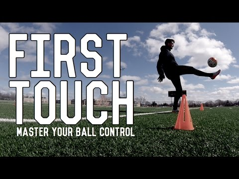 How To Improve First Touch | Master Your Ball Control | Touch Training For Football/Soccer