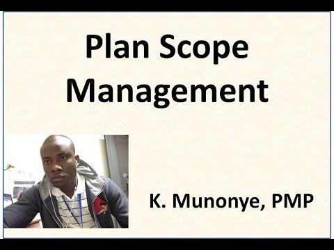 7 Project Scope Management   Plan Scope Management