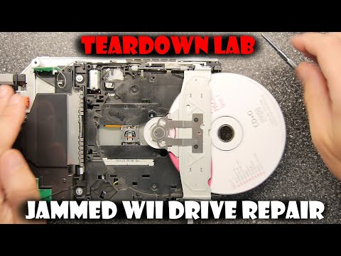 Teardown Lab - How to fix a jammed Wii drive
