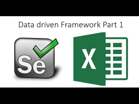 Data Driven Framework in Selenium Webdriver Part 1