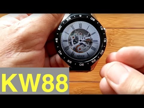 New Way to Install Custom Watch Faces on Kingware KW88 Smartwatch