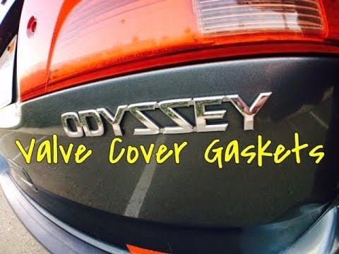 Honda Odyssey Pilot V6 Valve Cover Gasket Replacement