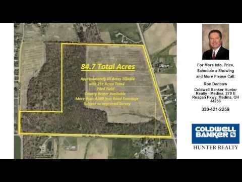 L85 Spencer Rd, Homerville, OH Presented by Ron Denbow.