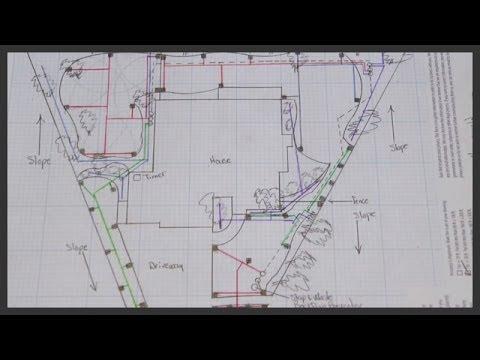 How to design a lawn sprinkler system