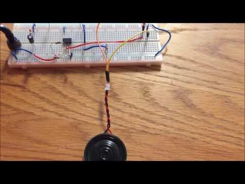 ECP1 Microphone Amplifier Circuit