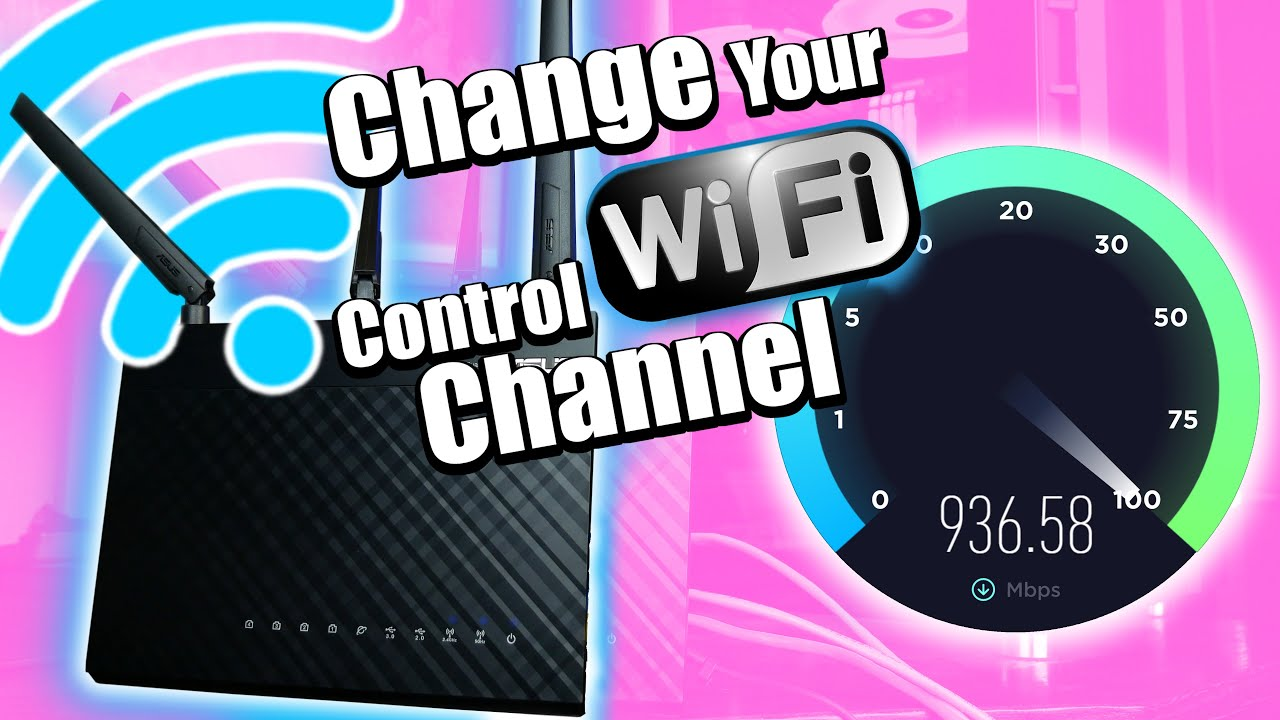 Fix Your Sucky Home Wi-Fi!  Why You Should Change Your Wi-Fi Control Channel.