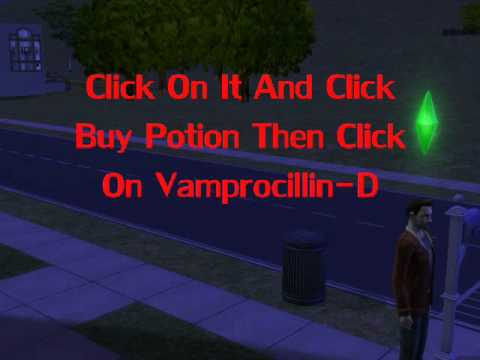 How To Cure Vampires In The Sims 2 HD