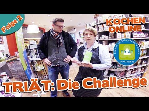 TRIÄT: Die Challenge - Folge 2 - Attila Hildmann - Vegan For Youth - Vegan For Fit - Vegan To Go