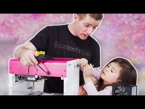 Building a PC with my 3 Year Old... Again!