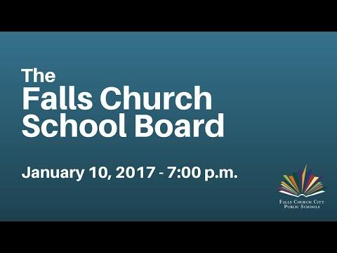 School Board Meeting: January 10, 2017