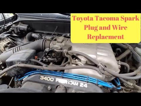 1995-2004 Toyota Tacoma Spark Plug and Wire Replacement (P0304 Code Repair)