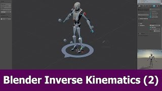 Blender Rigging IK tutorial