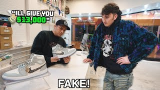 I Tried To Sell Fake Dior Jordan 1s At Sneaker Stores