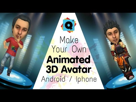 Make Your Own Animated 3D Avatar on Android / Iphone | Make Your Animation Cartoon Movie HD