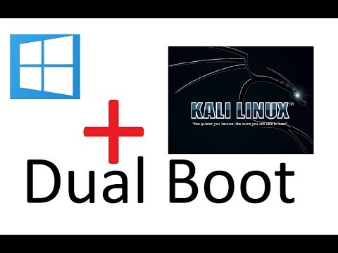 How To Dual Boot Kali Linux & Windows 7,8,8.1,10 | [Hindi/English]