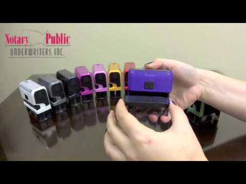 How to Replace Your Notary Stamp Ink Pad