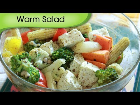 Warm Baked Vegetable Salad - Quick Salad Recipe By Annuradha Toshniwal [HD]