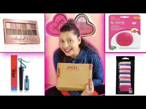 Xxx Mp4 Nykaa Unboxing Make Up Eye Liners Blushes SS Vlogs Hindi 3gp Sex
