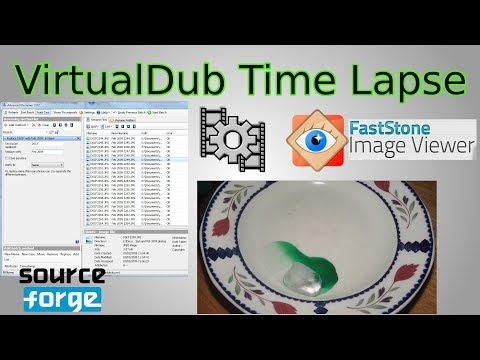 VirtualDub Time Lapse Tutorial (create timelapse from photos)