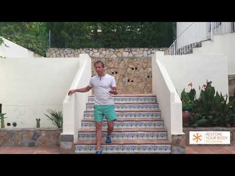 How to walk down stairs with Danny Bridgeman