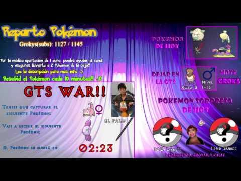 11#Reparto de Pokemon Competitivo: GALLADE, BISHARP, CHANSEY, NOIVERN, MUK,PELIPPER!! + GTS war