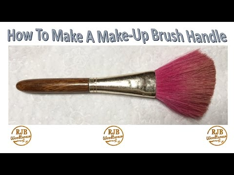 How To Make A Replacement Handle For A Make-Up Brush