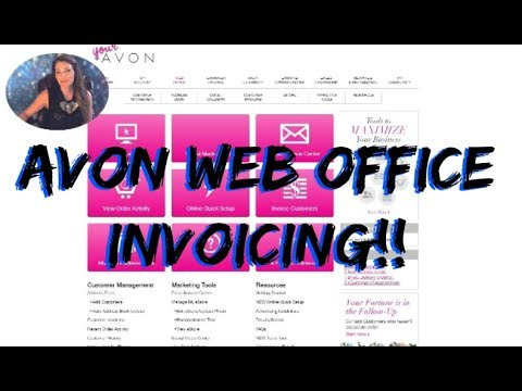 AVON Customer Invoicing WEB OFFICE