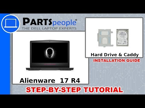Dell Alienware 17 R4 (P12S001) Hard Drive & Caddy How-To Video Tutorial